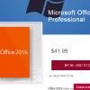 Mircosoftライセンスが激安psngamesでoffice 2016を購入してみました