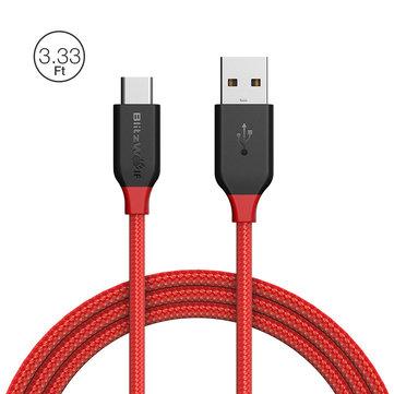 BlitzWolf®のUSB Type-Cケーブルが安い$5.49→$2.99!Banggoodでプロモーションが開始