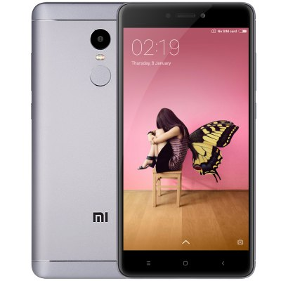 [最安国別クーポン 限定30]Xiaomi Redmi Note 4 SD625版 3GB/32GB Blackが$159.99→$117.99