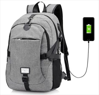 [終了]おためしにどうぞ USBチャージポート付きバックパックが激安 $9.02