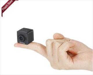 超小型デジタルビデオレコーダーQuelima SQ12のプロモーションが開始 $13.99で購入可能 旧モデルはなんと$7.99