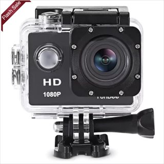 Furibee F80 1080Pアクションカメラが$19.99 セール期間中は毎日先着5台が$9.99に